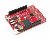 Seeeduino Mega is available at EasyElctronics.