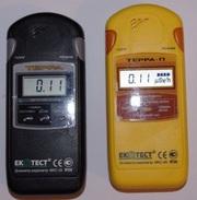 NUCLEAR  RADIATION DETECTOR DOSIMETER GEIGER COUNTER,  TERRA MKS-05 WIT