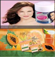 Nafia Magic Fairness Creame and Likas Papaya Soap from UAE