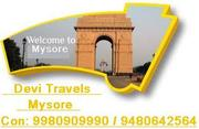 Mysore Tourist Places 9980909990 / 9480642564