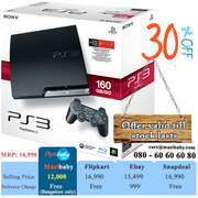 Buy Online PlayStation3 160Gb,  30% Off! Free Delivery In Bangalore