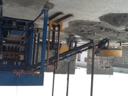 Concrete/ fly ash block making automated machine and 10 tier truck