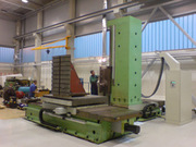 Horizontal Boring Machine- Table type (WHN 13.4 CNC)