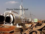 Pyrolysis Plant,  Waste Tyre Recycling Plant,  Tyre Oil Machine,  Manufac