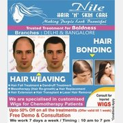 Hair weaving in Bangalore,  hair Bonding in Bangalore,  Hair replacement