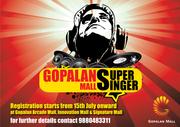 Shopping Mall Bangalore - Gopalan Mall Super Singer