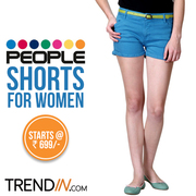 People Shorts for women