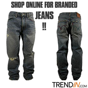Shop online for branded jeans