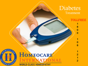 Get cured from Diabetes Through Homeopathy