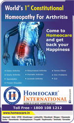 Homeopathy gives Relief from Back pain