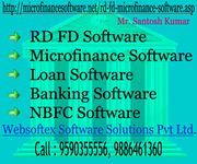 RD FD Software,  Microfinance Software,  Loan Software,  Banking Software