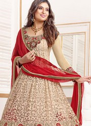 VandV Buy Online Long Brown Anarkali Suit very best low price 1999/-
