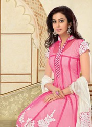 Latest Rakul Preet Sing Designer Pink Anarkali Suit just only on 1999