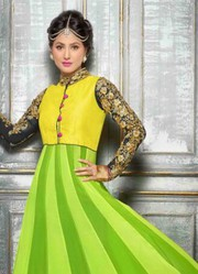 VandV Latest Lamon New Designer Anarkali Suits Very low price 1999/-