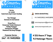 South India Tarvel Packages Smartway Tarvels Mysore Coorg Ooty