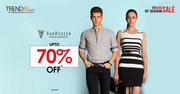 Buy Van Heusen Clothes,  upto 70% off on EOSS sale for women at Trendin