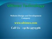 Excellent web Design Company in Udupi