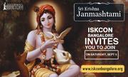 ISKCON Bangalore invites you to join on sri krishna janmashtami 2015
