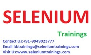 Training for SELENIUM  advanced level At Bangalore