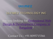 Excellent Website Development Company in Dharwad