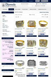 Diamond Jewellery - Gents Diamond Rings