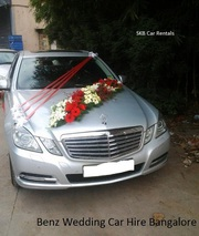 Wedding Car for rentals Hire in Bangalore - 09036657799