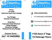 Rent A car In Mysore Smartway Tarvels 9449339033