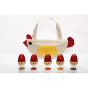Maya Organic Murgi Wooden Toy at Preksh