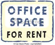850 sqft unfurnished office space for rent.