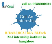 Internship In Bangalore B-Tech | MCA | BCA | M.Tech