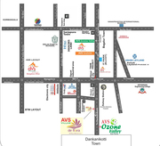 Residential Lands for sale in Hosur @ RS.599/sqft