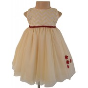 Stunning Beige Ivory Ceremony Dress For Your Little Princess
