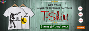 PersonalizedT-Shirts Printing | Customized T-Shirts Printing Online