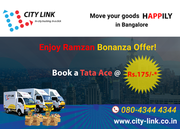 Mini Trucks On Hire In Bangalore @ 175 only
