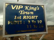 VIP Kings Town gated community project at Rs. 1000/- per sq.ft
