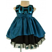 Teal Celebration Dress For Your Little Charming Girls