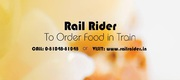Order Fresh Food In Train,  Food Delivery In Train- Rail Rider