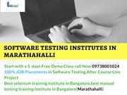 Software testing institutes in Marathahalli