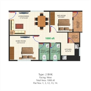 CHANDAPURA - ELECTRONIC CITY 2BHK FLAT FOR SALE WITH ALL AMENITIES