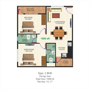 2BHK FLAT AT CHANDAPURA,  ELECTRONIC CITY FOR SALE - N