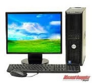Desktop available dual core with LCD monitor just 10, 000rs