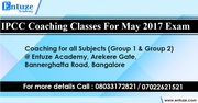 IPCC Coaching Classes for May 2017