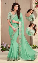 The Wedding Party Wear Saree @ Rs.2950 only