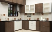 L Shaped Kitchen Interior Design