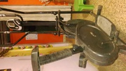 A cross trainer in good working condition