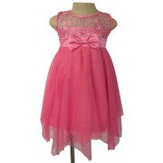 Pink Occasion Dress For Little Girl