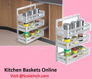 Buy Affordable Kitchen Baskets Online In India