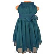 Faye Two Tone High Neck Dress