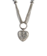 Shop Pari Silver Alloy Chain from ShoppyZip