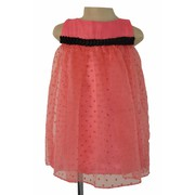 Faye Onion Pink Polka Dress